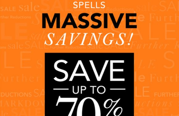 SAVE UP TO 70% OFF at Millers!